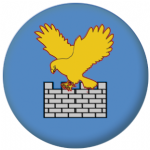 Friuli-Venezia Giulia Flag 58mm Button Badge